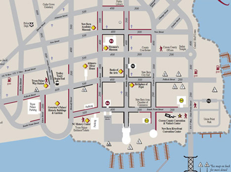 Maps – Visit New Bern