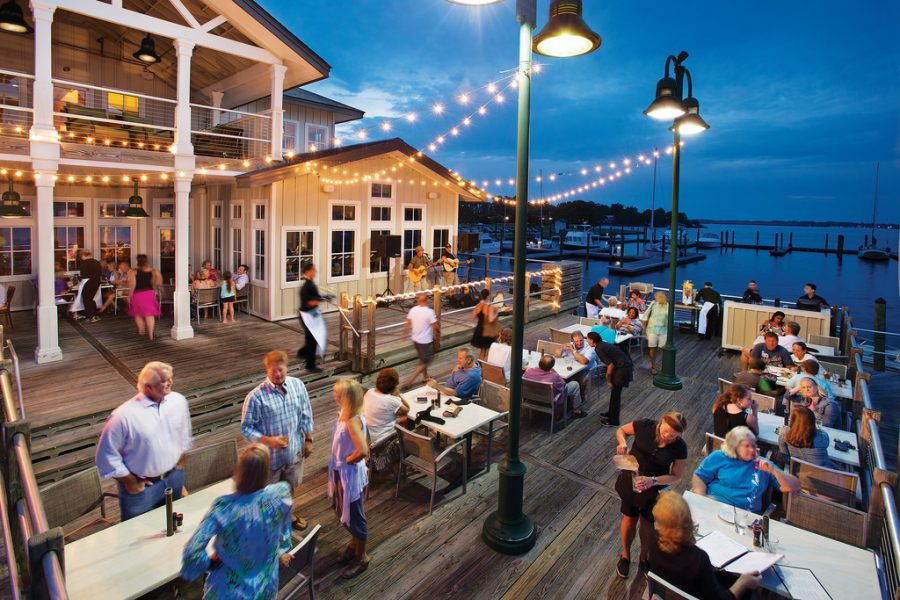 Music on the Deck at Persimmons Restaurant Visit New Bern