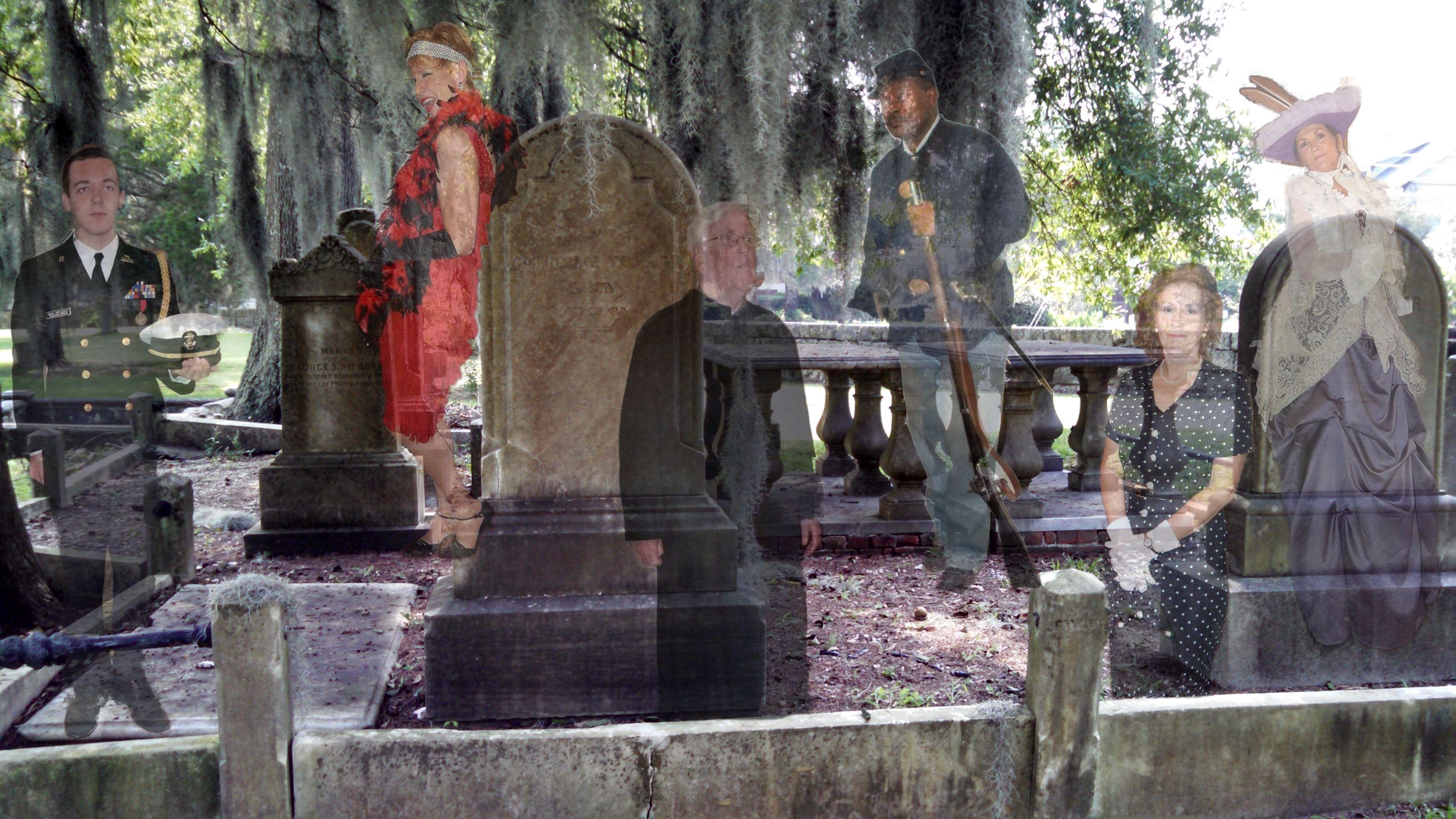 Ghostwalk, Graves\' Anatomy – Visit New Bern