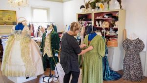 Behind the Scenes: Costume Shop @ Tryon Palace