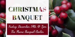 Dayspring Ministries Christmas Banquet @ The Flame Catering & Banquet Center | New Bern | North Carolina | United States