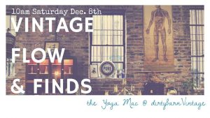 Vintage Flow & Finds @ Dirty Barn Vintage | New Bern | North Carolina | United States