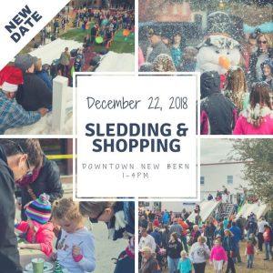 Beary Merry Christmas: Sledding Sunday @ Downtown New Bern