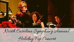 Holiday Pops presented by: The North Carolina Symphony @ Temple Baptist Church | New Bern | North Carolina | United States