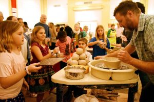 Potter's Throwdown @ Bank of the Arts | New Bern | North Carolina | United States