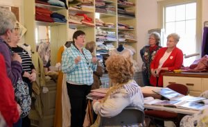 Behind the Scenes Costume Shop @ Tryon Palace | New Bern | North Carolina | United States