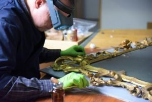 Behind the Scenes: Conservation Lab @ Tryon Palace