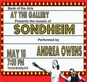 At the Gallery: Stephen Sondheim @ Bank of the Arts | New Bern | North Carolina | United States