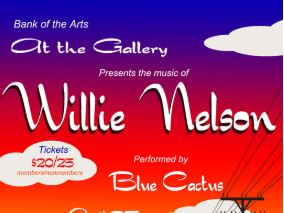 At the Gallery: Willie Nelson @ Bank of the Arts | New Bern | North Carolina | United States