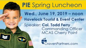 PIE Spring Luncheon @ Havelock | Havelock | North Carolina | United States
