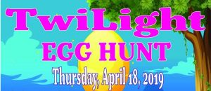 Twilight Easter Egg Hunt @ Glenburnie Park