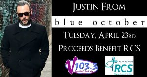 Acoustic Show with Justin From Blue October @ City Stage | New Bern | North Carolina | United States