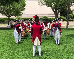The Fifes and Drums of York Town Performance @ Tryon Palace | New Bern | North Carolina | United States