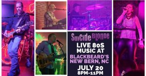 Suicide Blonde @ Blackbeard's Triple Play | New Bern | North Carolina | United States