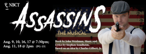 Assassins The Musical @ New Bern Civic Theatre | New Bern | North Carolina | United States