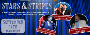 Stars & Stripes Show @ Grover C. Fields Performing Arts Center | New Bern | North Carolina | United States