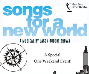 Songs for a New World @ New Bern Civic Theatre | New Bern | North Carolina | United States