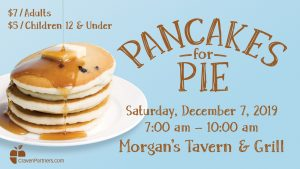 Pancakes for PIE @ Morgan's Tavern and Grill